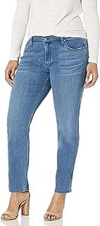 product image for James Jeans Women's Plus-Size Twiggy Curvy Five-Pocket Cigarette Jean In Flutter