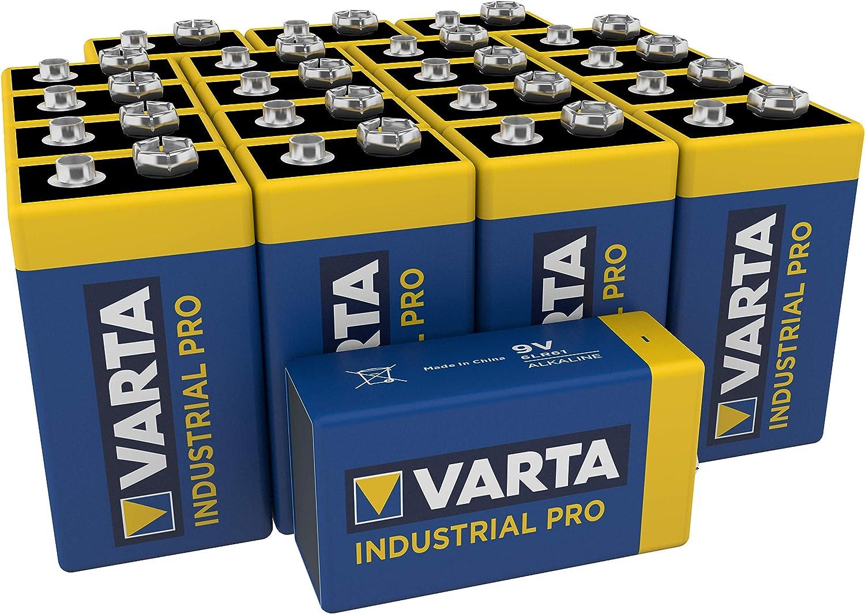 Varta Industrial Pro Battery 9v Block Alkaline Elektronik