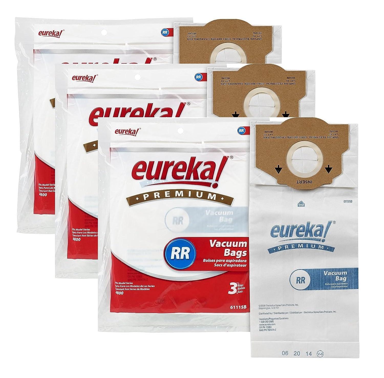 Amazon.com - Eureka Premium RR Style Bag, package of 3 - Household Vacuum  Bags Upright