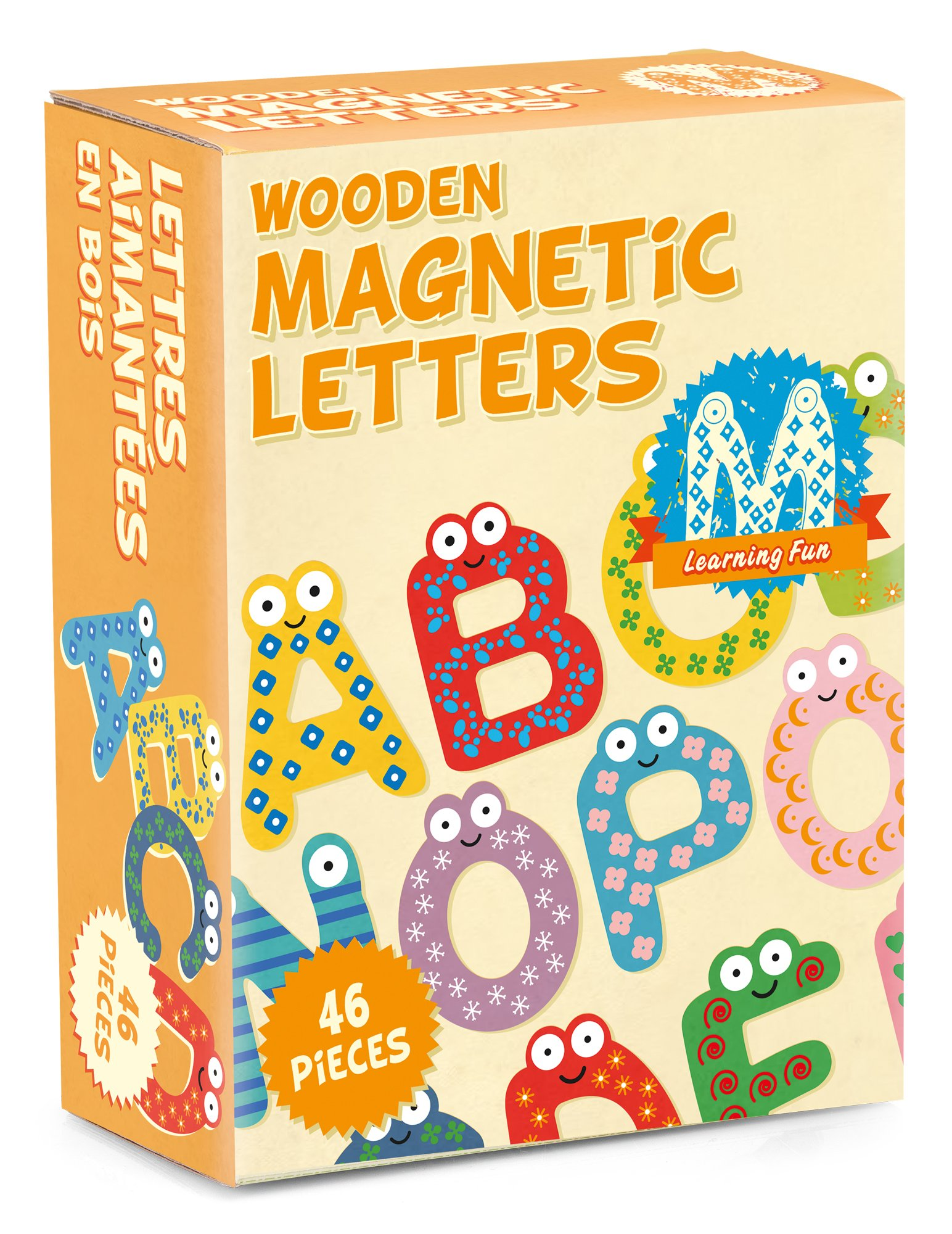 Tobar Wooden Magnetic Letters