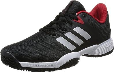 adidas Barricade 2018 Xj, Zapatillas de Tenis Unisex Niños: Amazon.es: Zapatos y complementos