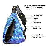 iColor Sling Bag Print Chest Shoulder Backpack