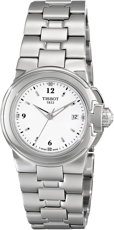 Tissot T080.210.11.017.00 - Reloj de Cuarzo para Mujer con Esfera Blanca