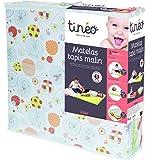 Tinéo - 603611 - Matelas Tapis Malin - Ecru - Multicolore