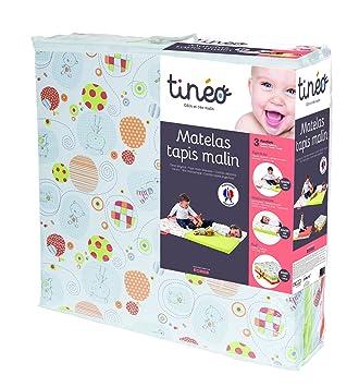 Tinéo 603611 Matelas Tapis Malin Ecru Multicolore Amazonfr