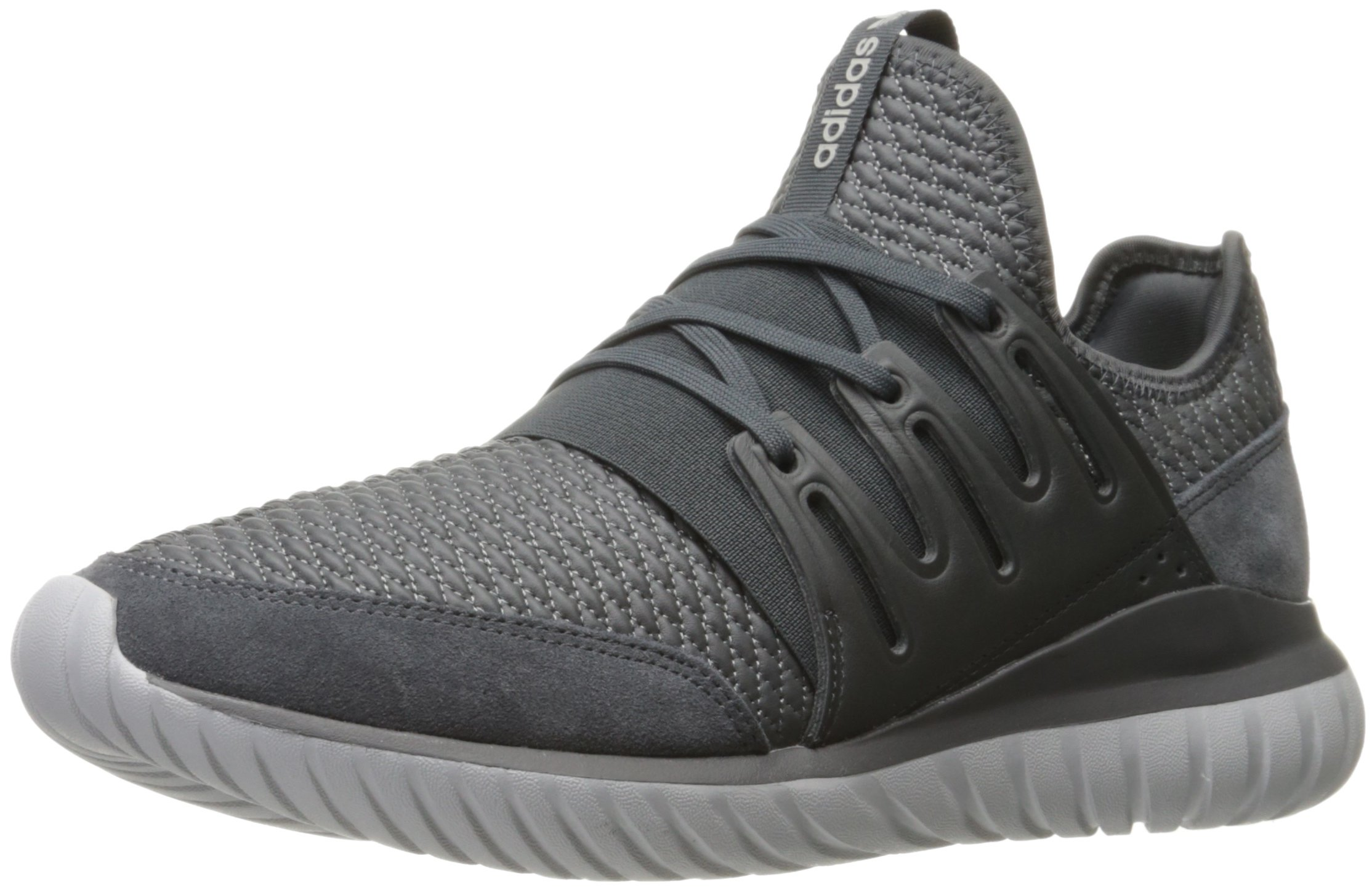 low priced 3c6ca 7e2b1 Galleon - Adidas Originals Men s Tubular Radial Running Shoe Dark Medium  Grey Heather, 5 M US