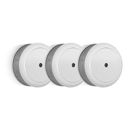 Smartwares RM620 - Detector de Humo, Mini. batería de 10 años, botón de