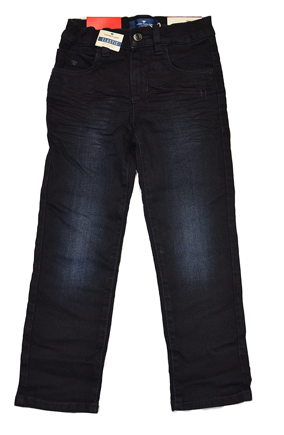 Tom Tailor Kids Jungen Jeans Hose Slim Tim Extra Ski Boys dark Blue washed Tim Slim Blau (1100) 62036620182 Gr. 92 - 134