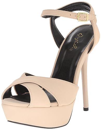 6d59b97e0669 Qupid Women s Daydream-49X Dress Sandal