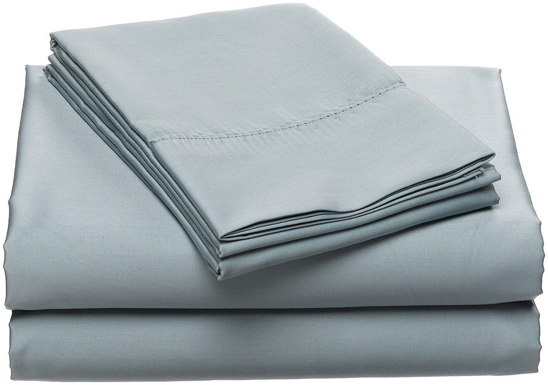 Wamsutta Dream Zone Sky Blue Queen Sheet Set, 750 Thread Count