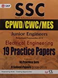 SSC (CPWD/CWC/MES) Electrical Engineering (Junior Engineers) 19 Practice Papers 2016