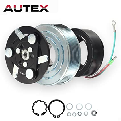 AUTEX AC A/C Compressor Clutch Coil Assembly Kit 38800RZYA010M2 80221SNAA01 8851502200 Replacement for 2007