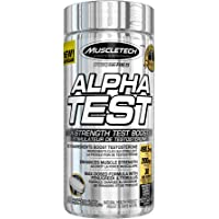 MuscleTech Pro Series Alpha Test, Testosterone Booster, 90 Count, Package May Vary