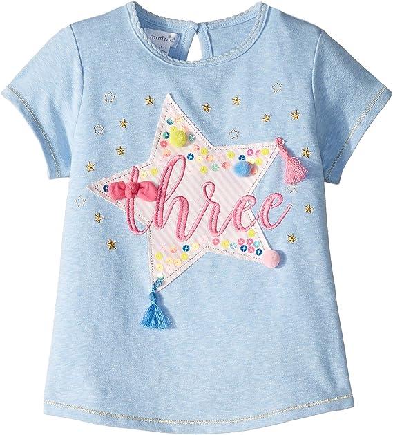 Amazon.com: Mud Pie - Camiseta de tres cumpleaños, color ...