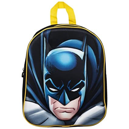 b368295c7c1a Amazon.com  Character DC Superhero  Batman  EVA 3D Junior Backpack ...