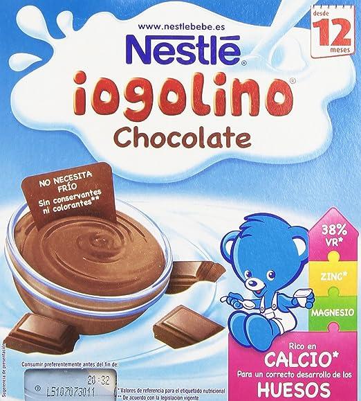 Logolino Chocolate a partir de 12 meses, 4x100g