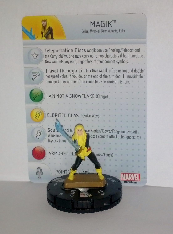 Marvel Heroclix Wolverine Magik and the X-Men #034 Magik with Heroclix with Card B00EQ42CMK, 勝田郡:6d98adc5 --- 2017.goldenesbrett.net