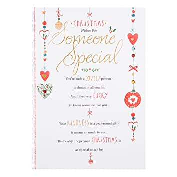 Hallmark someone special christmas card christmas wishes medium hallmark someone special christmas card christmas wishes medium m4hsunfo Gallery