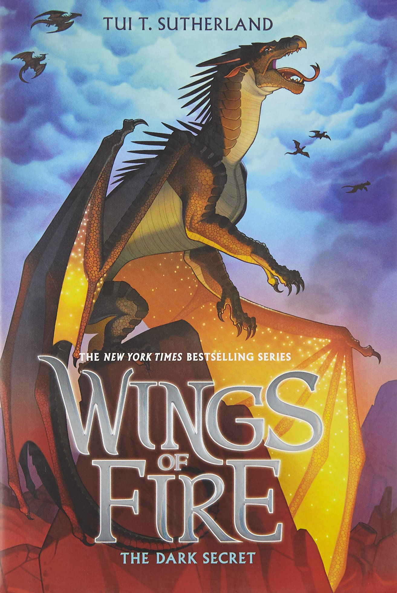 Read Online Wings of Fire Book Four: The Dark Secret ebook