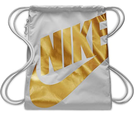 NIKE Heritage Gym Sack (Light Tan Gold Gold)  Amazon.in  Sports ... 5fd6d0d31aa58