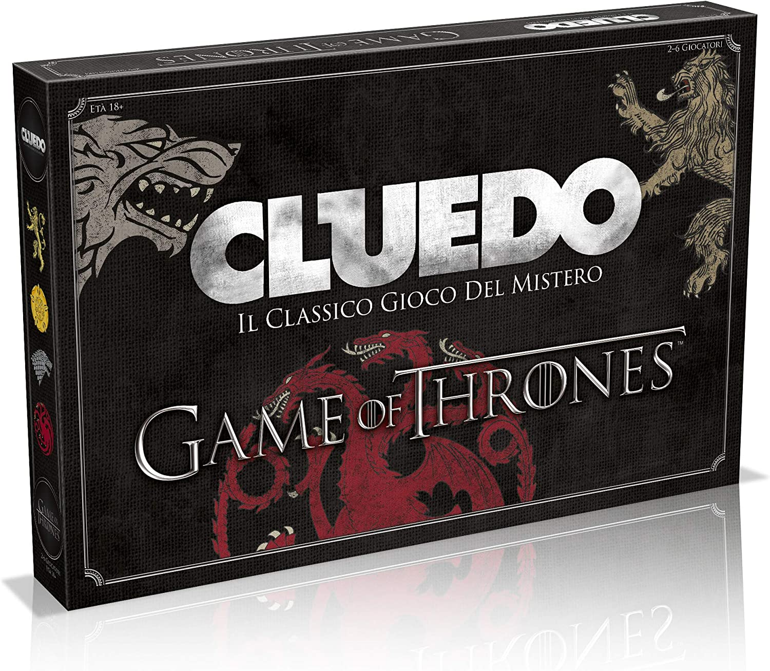 Winning Moves wm027410 – Cluedo Game of Thrones: Amazon.es ...