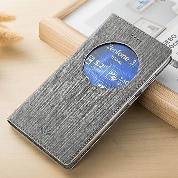 Yoota Funda ZenFone 3 ZE520KL, Funda de Cuero Cubierta ASUS ...