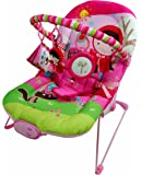 Musical Vibaration Reclining New Born Baby Pink Girl Bouncer Rocker Swing Chair