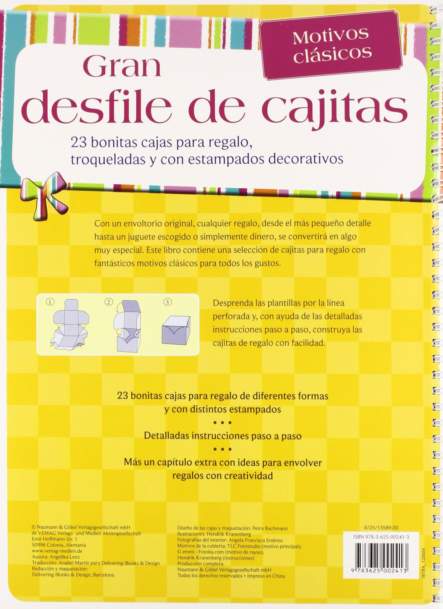 MOTIVOS CLASICOS (GRAN DESFILE DE CAJITAS): LENZ(002413): 9783625002413: Amazon.com: Books