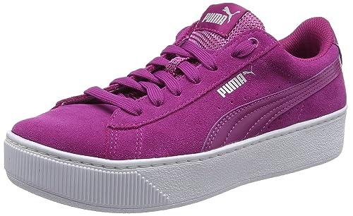 Puma Vikky Platform, Zapatillas para Mujer: Amazon.es: Zapatos y complementos