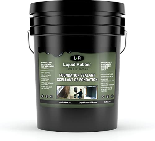 Liquid Rubber Foundation & Basement Sealant