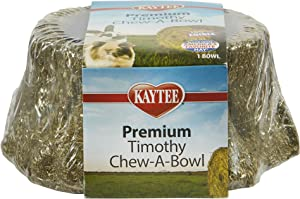 Kaytee Premium Timothy Treat Chew-A-Bowl For Small Animals
