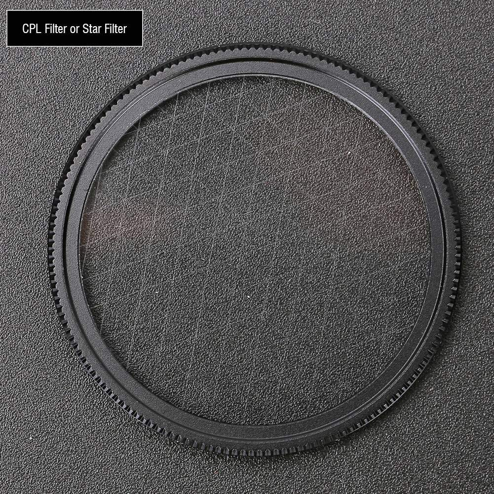 Ultra Lens Filter Slim 10X Macro Lightweight 37MM CPL//Star Filter for APEXEL Phone Camera HD5 110/° Wide Angle Lens Star Filter