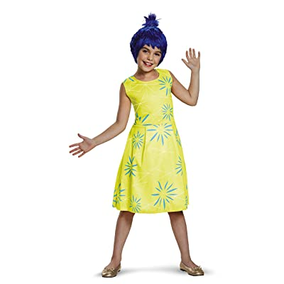 Disney Inside Out - Classic Joy Costume for Girls: Toys & Games