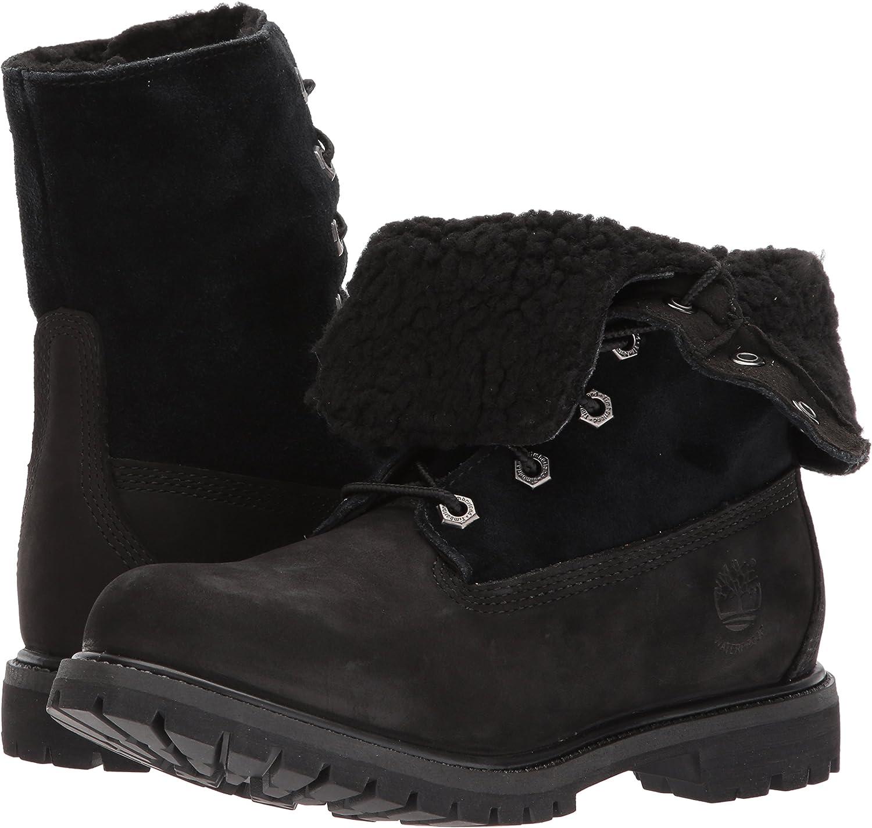 menta menta Dictar  Timberland Women's Teddy Fleece Waterproof Fold-Down Fashion Boots:  Amazon.ca: Shoes & Handbags