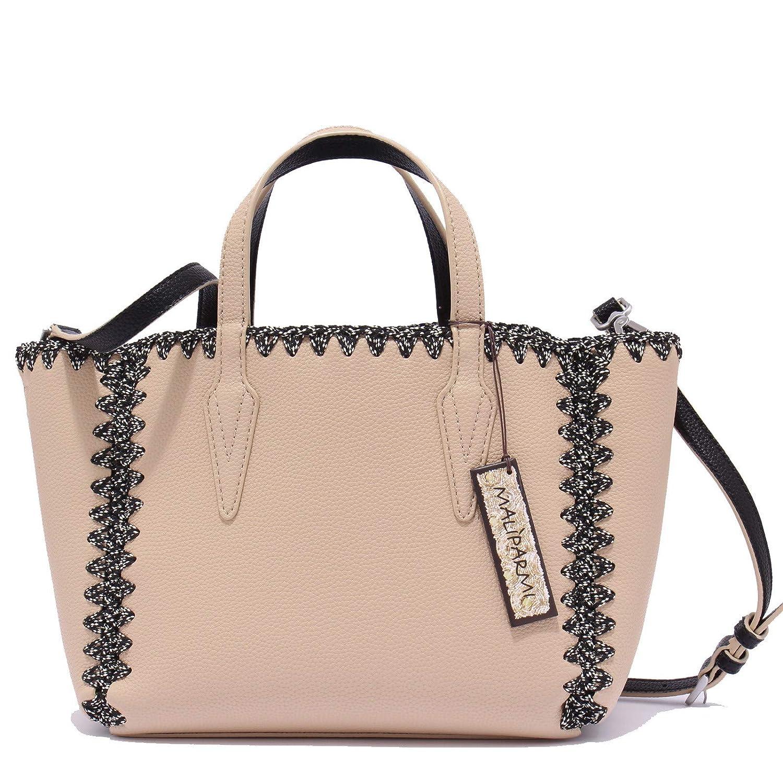 MALIPARMI 8431X borsa donna eco leather beige hand bag woman  ONE SIZE    Amazon.it  Abbigliamento 548dddc8b35