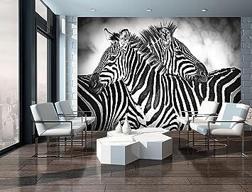 Welt Der Traume Papier Peint Intisse 130 G M Zebres 10092