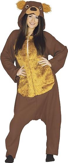 Guirca- Disfraz adulto oso, Talla 48-50 (84924.0): Amazon.es ...