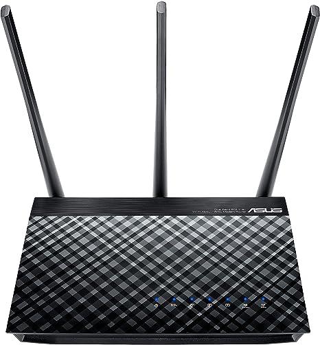 1x Gigabit WAN, ASUS DSL-AC55U ADSL//VDSL AC1200 Dual-Band Wireless Modem Router