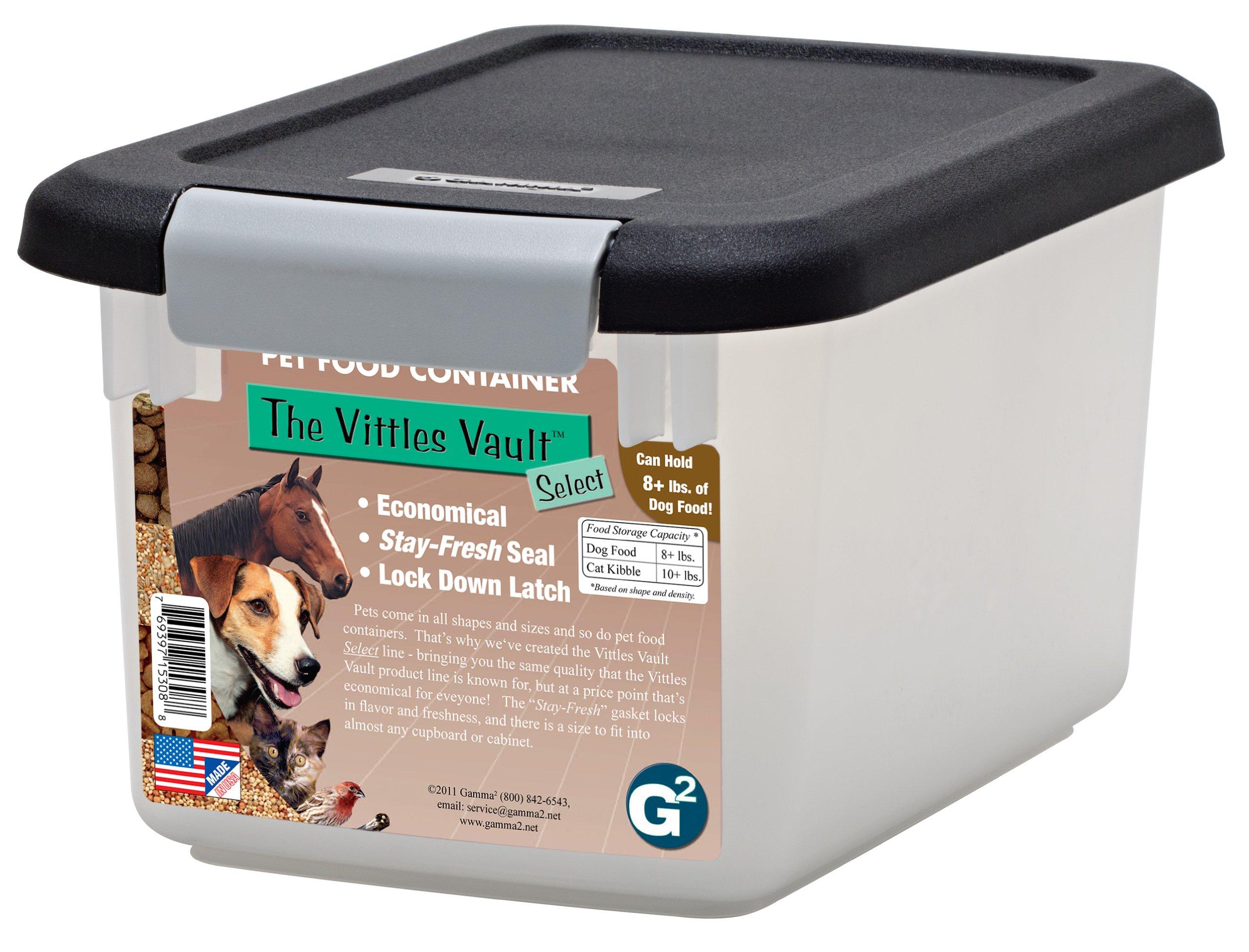 GAMMA2 Vittles Vault Airtight Pet Food Container 8lb