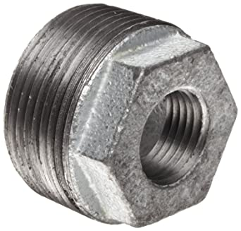 """HEX BUSHING 1 1//4/"""" X 1//2/"""" STAINLESS STEEL,150# npt pipe fitting n.p.t."""