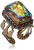 """Sorrelli """"Aurora Sky"""" Petite Emerald-Cut Ring, Size 7-9"""