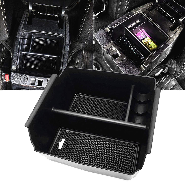 JOJOMARK for Jeep Wrangler JK and JKU Accessories 2011-2018 Center Console Organizer Tray by JOJOMARK