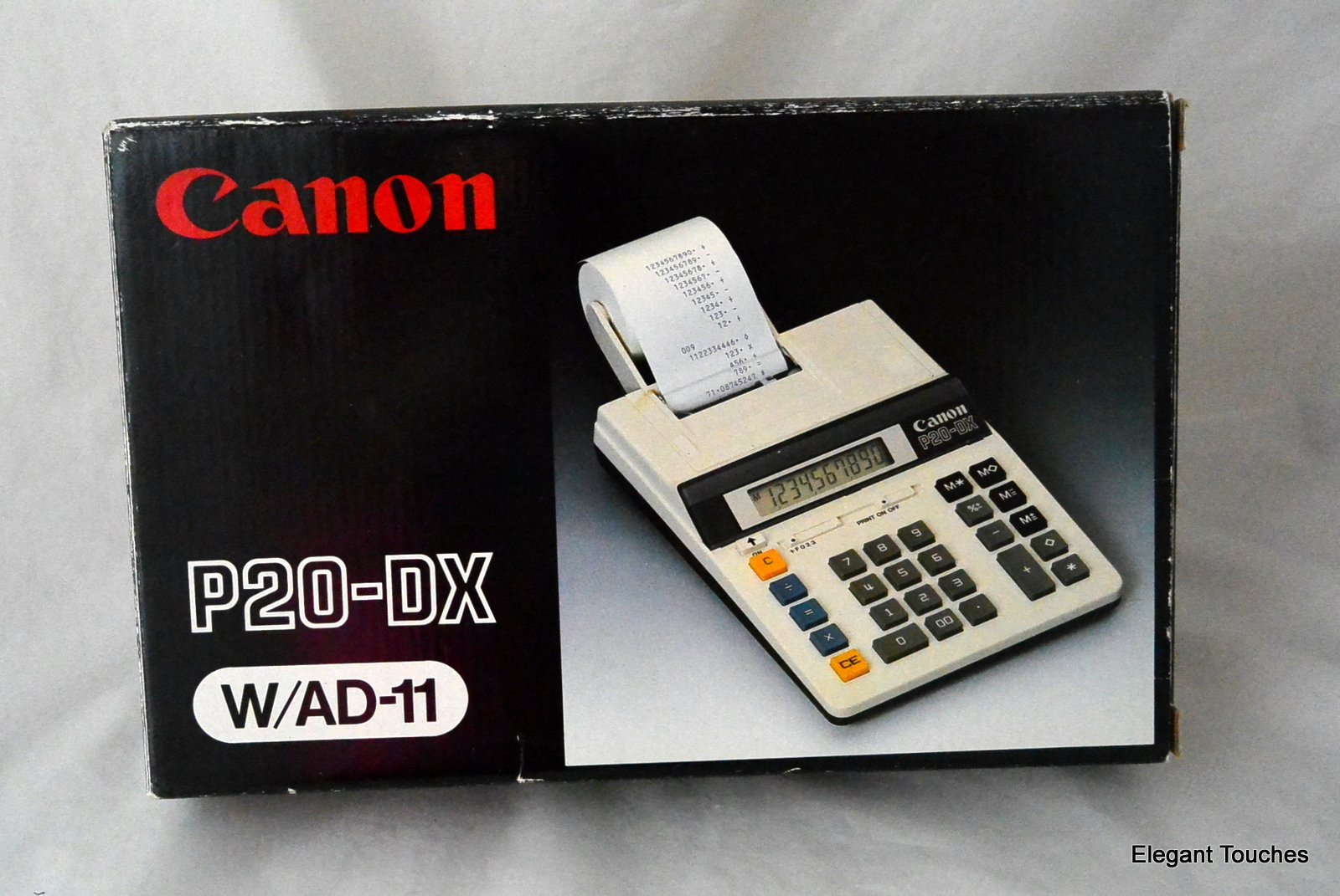 Canon P20-DX Desk Calculator