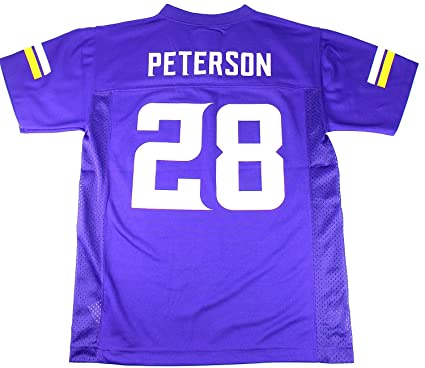 low priced 8ebce 725d8 Outerstuff Adrian Peterson Minnesota Vikings Youth Purple Jersey Large 14/16