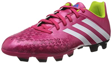 f5787618979c Adidas Men's Predito Lz TRX Fg Pink and White Football Boots - 6 UK ...