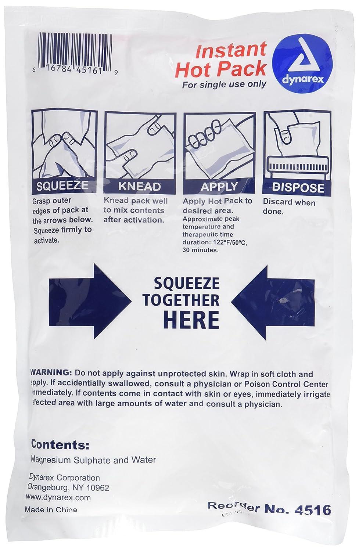Amazon.com : Instant Hot Packs Disposable 5\
