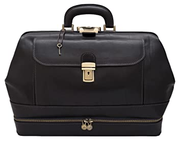 Image Unavailable. Image not available for. Color  Leather Doctor bag Roma  ... a060282227a5b