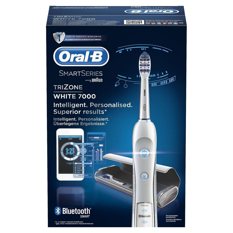 Braun TZ 7000 Smart - Cepillo de dientes eléctrico de rotación (material plástico), color negro: Amazon.es: Salud y cuidado personal