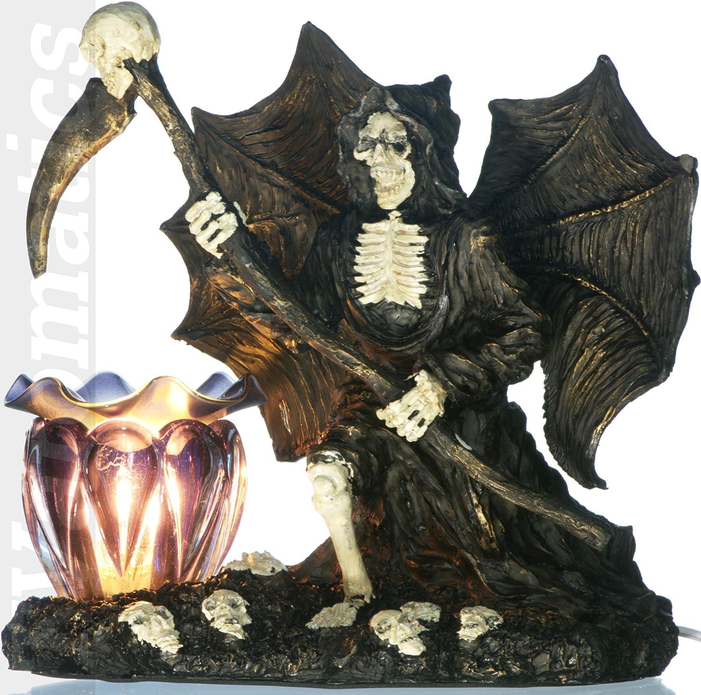 TVaromatics Grim Reaper Electric Aroma Lamp Oil and Wax Tart Warmer