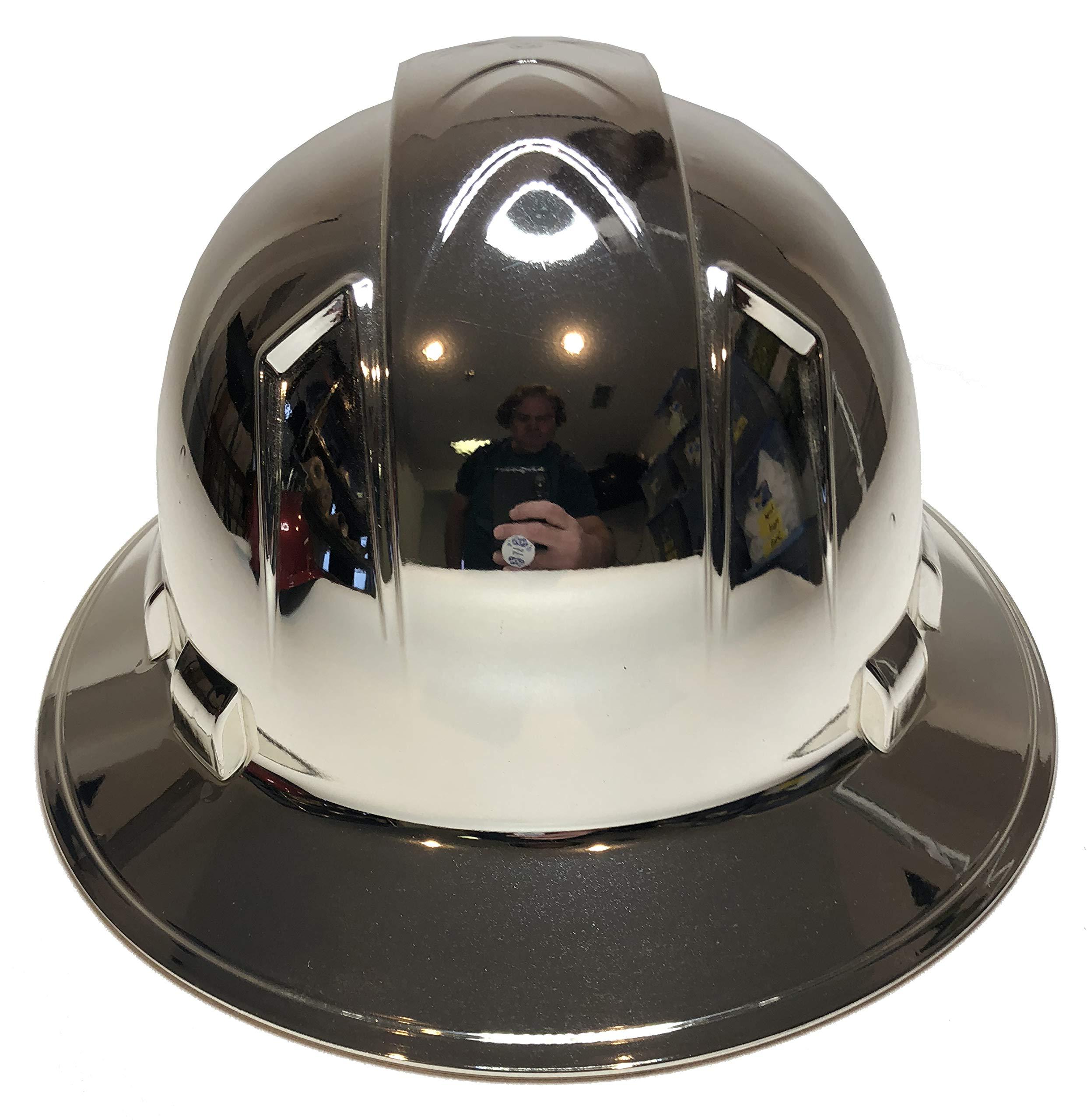 Hard Hat Ridgeline Full Brim Custom Chrome